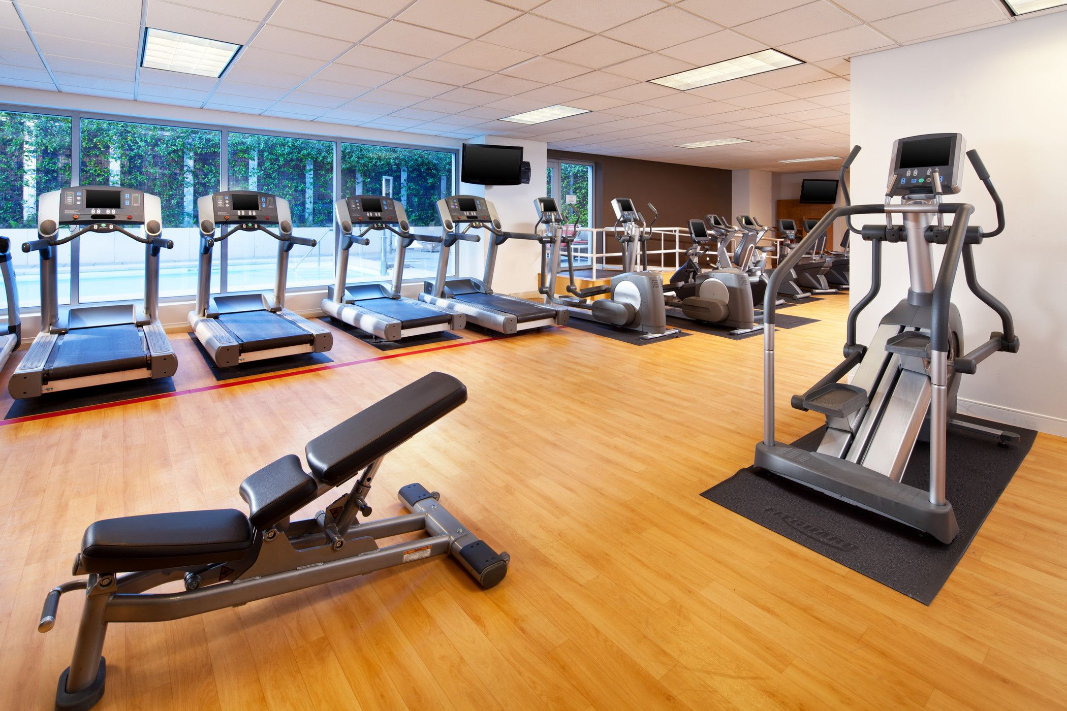 Sacramento Hotel Features - Fitness Center